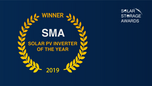 Global Solar + Energy Storage 2019 Presents SMA With Solar PV Inverter of the Year Award