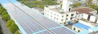 Commercial photovoltaic system